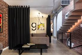 interior best living room divider ideas design with bookshelf