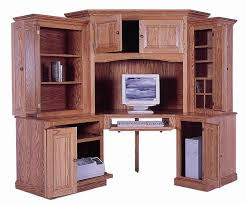 Corner Desks With Hutch Fabulous Computer Corner Desk With Hutch Top Home Decorating Ideas