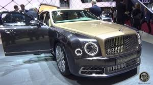 bentley mulsanne limo interior 2017 bentley mulsanne ewb 2016 geneva motor show youtube