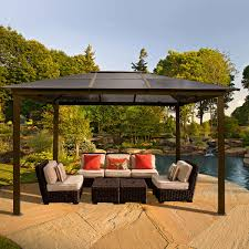 Small Patio Gazebo by Gazebos Costco