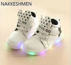 aliexpress help spring fashion lights cartoon luminous high help children s shoes