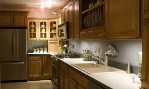 Cherry Wood Kitchen Cabinets Traditional Kitchen Ideas White Kitchen With Red Accent Wall