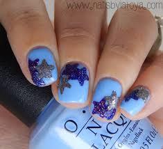 nails of the day hole punch star nail art nails by latoya