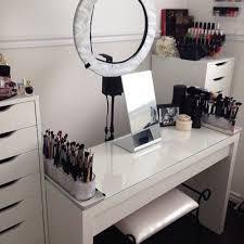 professional makeup desk blvckswede m a k e u p l o v e r s