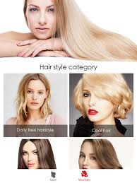 hairstyles for close set eyes hair style salon color changer on the app store