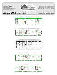 new single wide mobile home floor plans