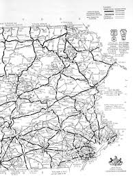 Pennsylvania Toll Road Map by Pennsylvania And Pittsburgh Roads