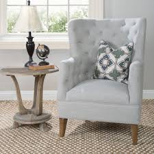Gray Armchair Where Did You Get Your Gray Tufted Chairs Hymns And Verses