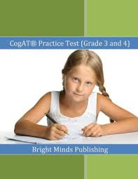 Barnes And Noble Publishing Cogat Practice Test Grade 3 And 4 Includes Tips For Preparing