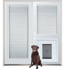 French Doors With Blinds In Glass Patio French Back Doors With Internal Mini Blinds And Pet Doggy