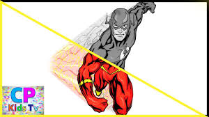 ps flash coloring pages for kids part 2 flash coloring pages