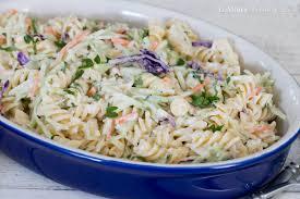 peri peri meatballs u0026 broccoli slaw pasta salad lemoine family
