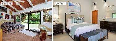 Bedroom Construction Design Before U0026 After Full Construction Remodel Maui Bassman Blaine Home
