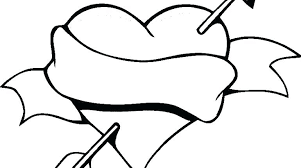 coloring pages with roses heart and rose coloring pages emilylhamilton com
