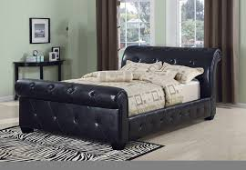 Grey Sleigh Bed Upholstered Sleigh Bed Grey One Thousand Designs Upholstered