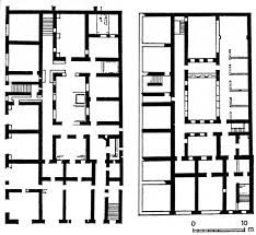 roman insula floor plan insula plan roman garden and urban pinterest roman and ancient