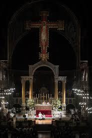 vigil lights catholic church easter vigil in westminster cathedral mazur catholicnews flickr