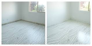 painting a floor painted concrete floors vintage revivals