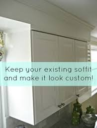 Kitchen Cabinets Crown Moulding by Closing The Space Above The Kitchen Cabinets Moldings Kitchens