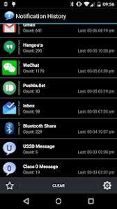 android history notification history android apps on play