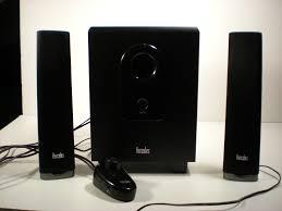 Attractive Computer Speakers Hercules Xps 2 1 40 Slim Speakers Review