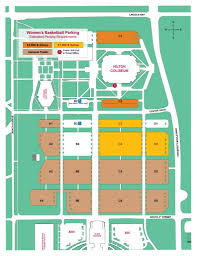 University Of Utah Parking Map by Iowa State Athletics