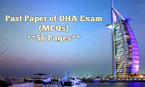 past paper of dha exam mcqs