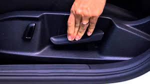 2015 volkswagen golf sportwagen adjusting the manual seat with