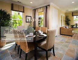 Dining Room Tile Flooring Dining Room Tile Flooring Petrified - Dining room tile