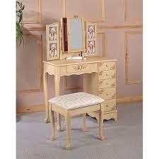 Portable Vanity Table Coaster Company Bling Game Vanity Desk Metallic Platinum