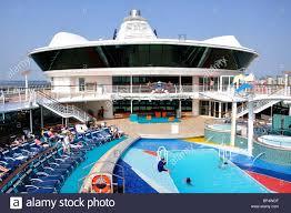 pool deck royal caribbean cruises u0027jewel of the seas u0027 cruise ship