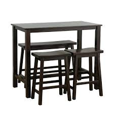 granite pub table and chairs high top pub table set 3 faux marble top counter height bar set