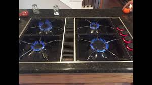 Jennaire Cooktop Jenn Air Cooktop Making Cliking Youtube