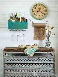 diy kitchen decorating ideas easy diy kitchen decorating wine station crates and entryway