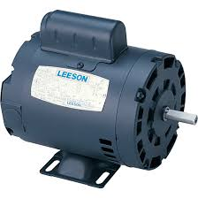 leeson reversible electric motor hp rpm wiring diagram components