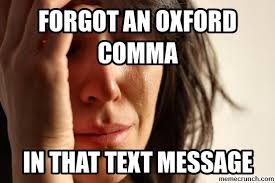Oxford Comma Meme - image jpg