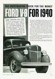 Vintage Ford Truck Advertisements - directory index ford trucks 1940