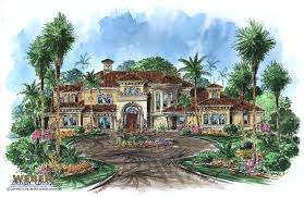 Tuscan House Designs Tuscan House Plans Luxury Home Plans Old World Mediterranean Style