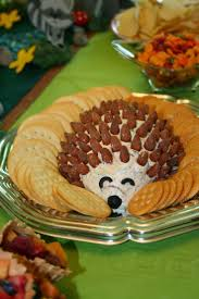 hedgehog cheese tray for a woodland party clay u0027s 1st birthday