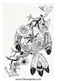 photo collection owl dreamcatcher tattoo