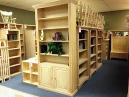 unfinished bookshelves with doors brown wooden bookcase with