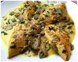 la cuisine d agnes escalopes de poulet à la crème au curry la cuisine d agnèsla