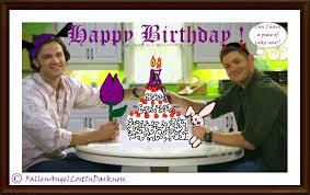 Supernatural Birthday Meme - supernatural birthday card by fallenindarkness on deviantart