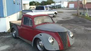 vintage volkswagen truck rat rod custom vw beetle pick up truck youtube