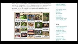 native american food plants native american permaculture youtube