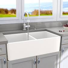 modern kitchen sink with drain boards and chrome faucet kitchen sinks modern contemporary designs allmodern