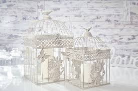 Shabby Chic Bird Cages by Wedding Shabby Chic Birdcage Centrepieces Bird Cage Candle Holder