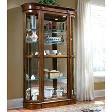 pulaski curio cabinet costco pulaski curio cabinet image of corner curio cabinet pulaski
