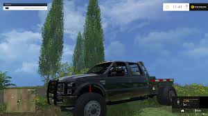 Ford Diesel Truck Black Smoke - f350 ford diesel street dually no stacks black ls15mods com