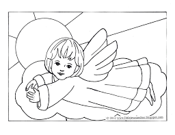 angel color pages angel coloring pages